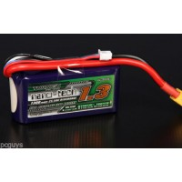 Turnigy nano-tech 1300mah 3S 25~50C Lipo Pack *UK Stock*