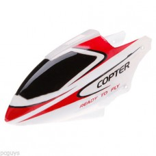 WLtoys RC Helicopter V911-1 Canopy Head Cover Red White