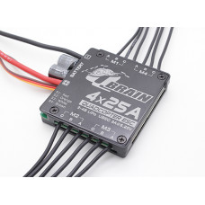 Q Brain 4 x 25A Brushless Quadcopter ESC 2-4S 3A SBEC - UK stock
