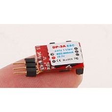 TGY DP 3A 1S 1g Brushless Speed Controller - UK stock