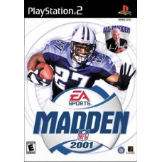 Madden NFL 2001 Video Game For PlayStation 2