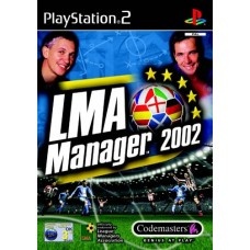 LMA Manager 2002 - Video Game For PlayStation 2