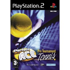 Perfect Ace Pro Tournament Tennis Video Game For PlayStation 2