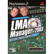 LMA Manager 2003 - Video Game For PlayStation 2
