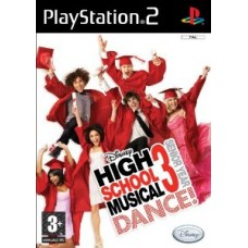 High School Musical 3: Senior Year DANCE! Video Game for PlayStation 2