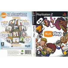 Eye Toy Play (No Camera) - Video Game For PlayStation 2