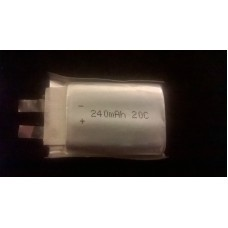 (CA - 005) ZIPPY 240mAh 20C Single Cell battery lipo