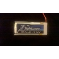 (CA - 008) Zippy Flightmax 350mAh 1s 30C Single Cell battery lipo