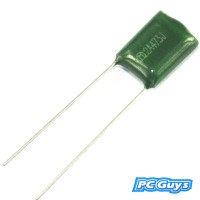 10pcs 2A273J 100V 0.027UF 27NF Polyester Film Capacitors