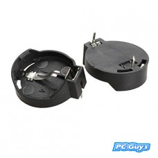 2pcs CR2032 CR2025 General Button Battery Clip Holder Box Case