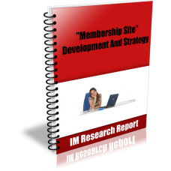 Membership Site – Development And Strategy PDF ebook