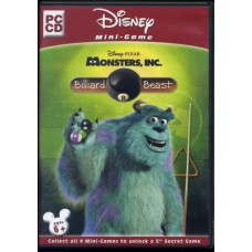 (CA) Disney/Pixar's Monsters, Inc: Billiard Beast Mini Game PC video Game