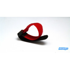 1 x Red 20cm Velcro Style Hook and Loop Tie Down LiPo Battery Strap