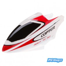 WLtoys RC Helicopter V911-1 Canopy Head Cover Red and White
