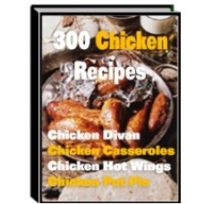 300 chicken recipes PDF ebook