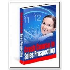 A Crash course in modern sales prospecting PDF ebook