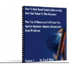 How to spot spoof emails PDF ebook