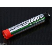Turnigy nano-tech 1000mah 1S 15C Round Lipo *UK Stock*