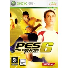 Pes 6 pro evolution soccer xbox 360 classic game
