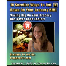 10 surefire ways to cut down on your grocery bill PDF ebook